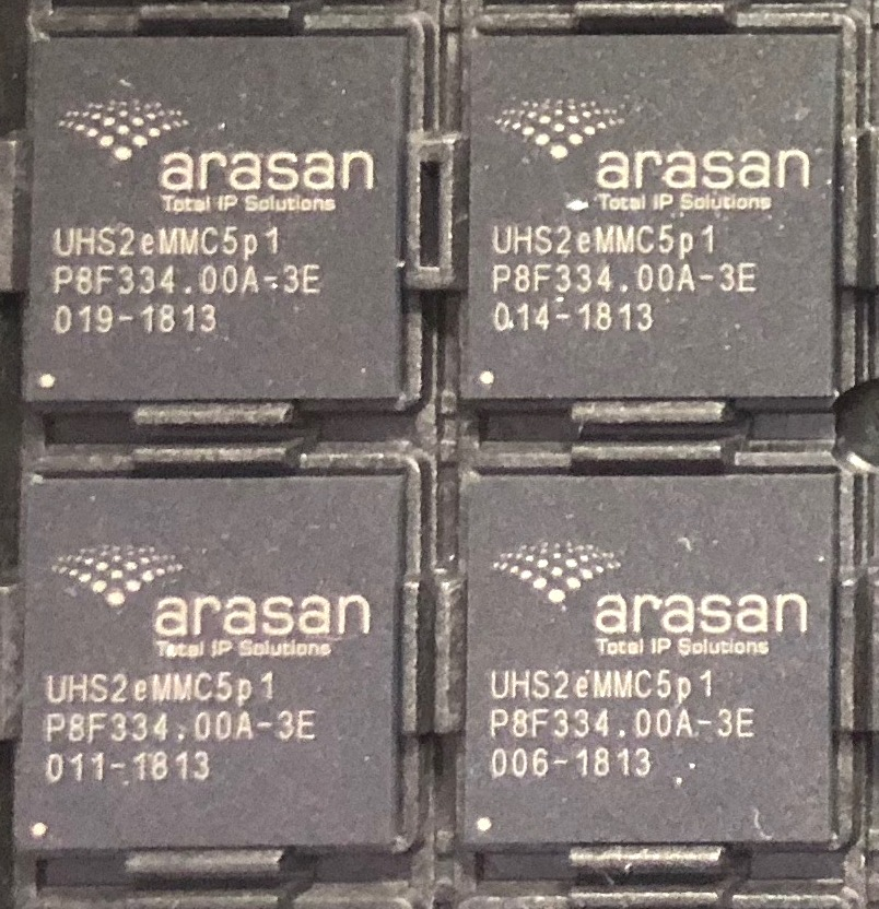 SD Card UHS-II PHY TSMC 12nm Test Chips